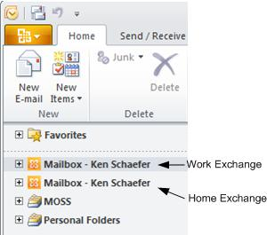Outlook 2010 - Multiple Profiles