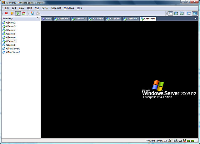 VMWare To Hyper-V (before)